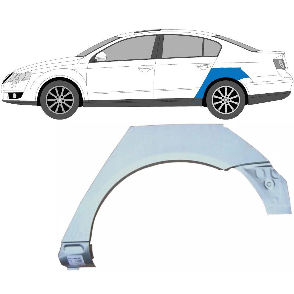 VW PASSAT B6 2005-2010 HINTERRADBOGEN REPARATURBLECH / LINKS