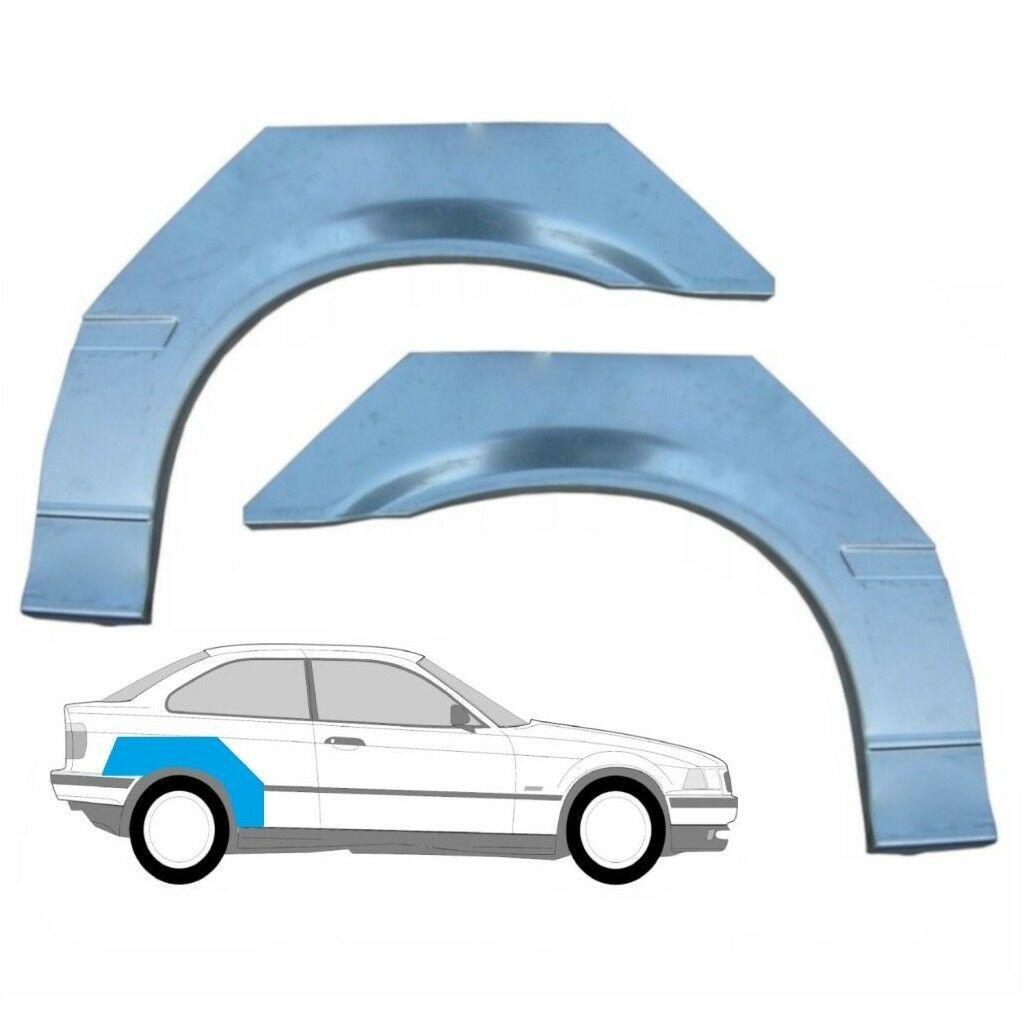 BMW 3 E36 COMPACT HINTERRADBOGEN BLECHE / PAAR