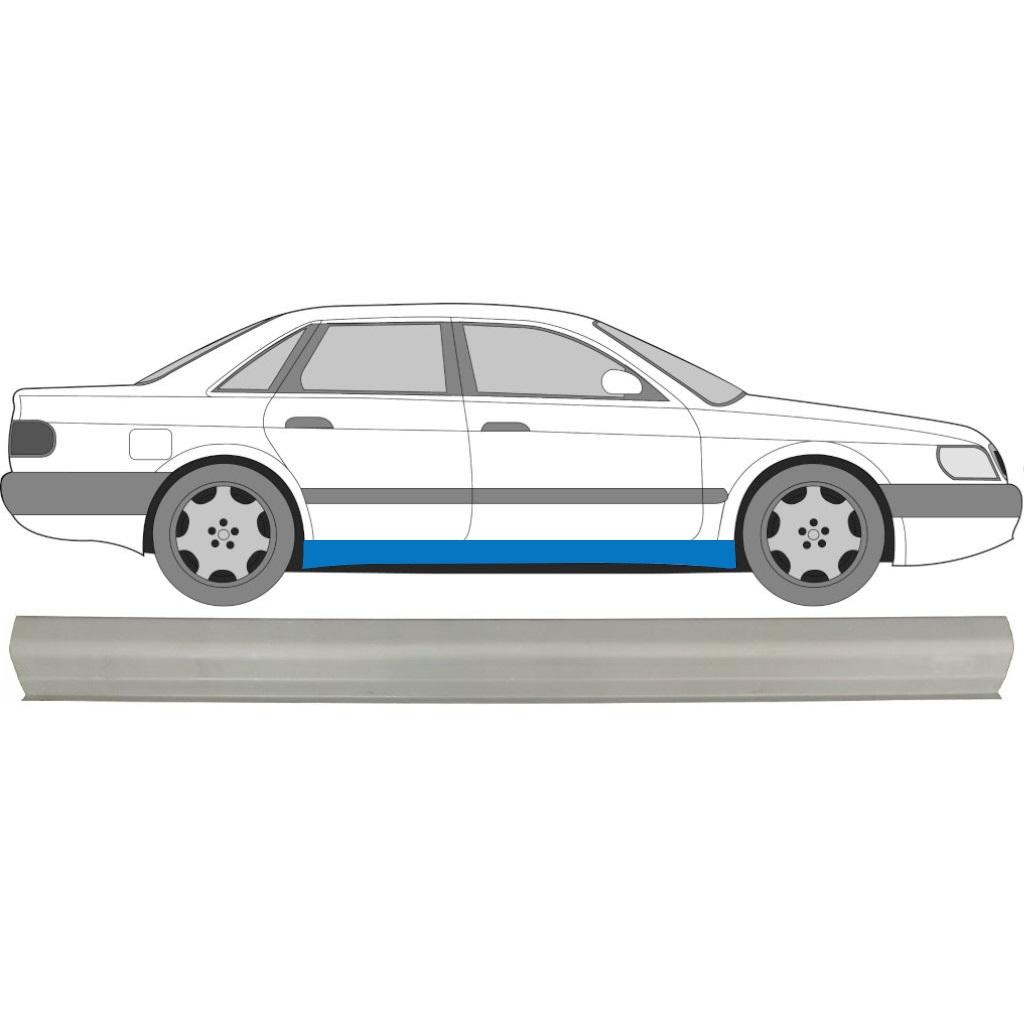 AUDI 100 C4 1990-1994 SCHWELLE REPARATURBLECH / SYMMETRISCH