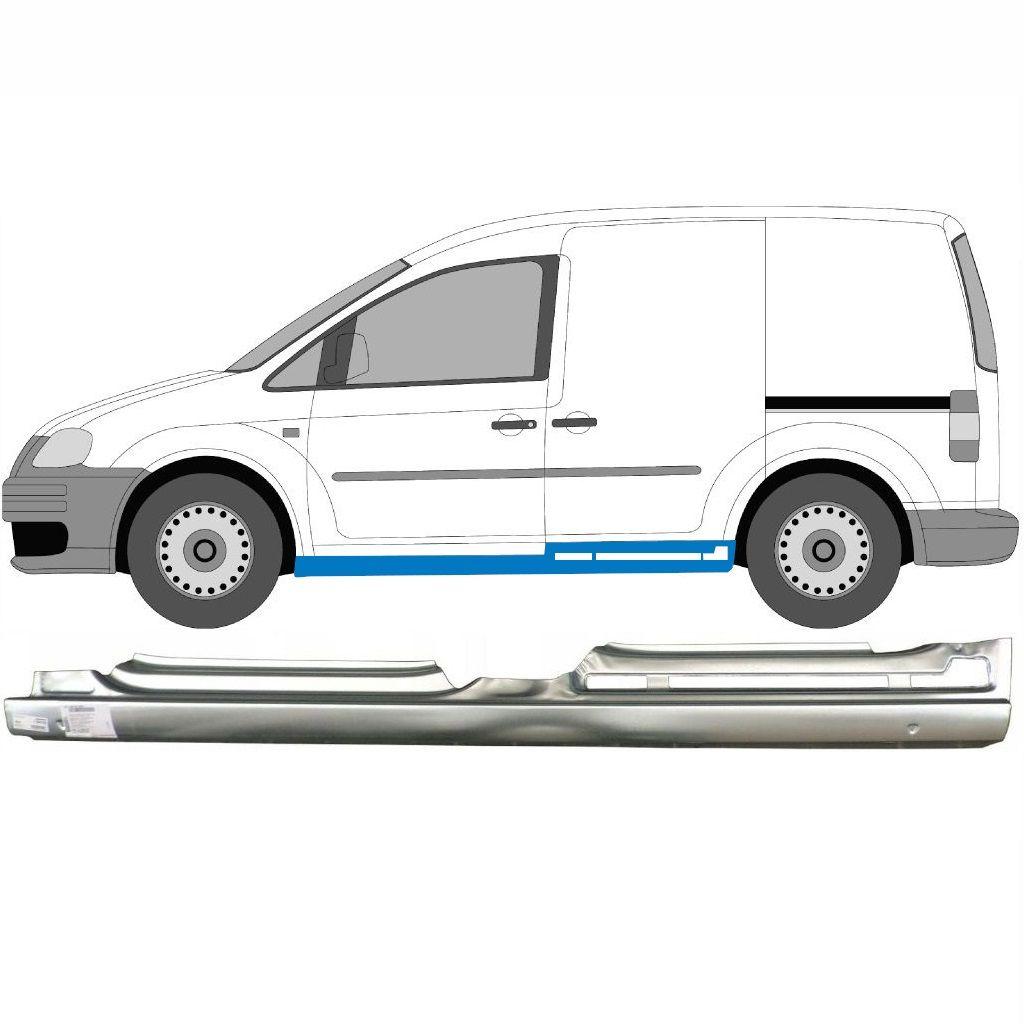VW CADDY III 2004-2010 4 TÜR SCHWELLE REPARATURBLECH / LINKS