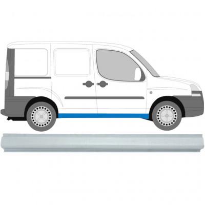 FIAT DOBLO 2001-2010 SCHWELLE REPARATURBLECH / R=L