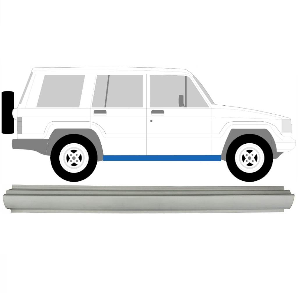 ISUZU TROOPER 1983-2005 SCHWELLE REPARATURBLECH / R = L