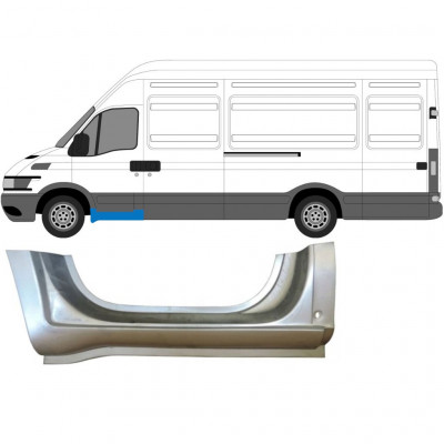 IVECO DAILY 1999-2006 FRONT SILL DOORSTEP PANEL / LEFT