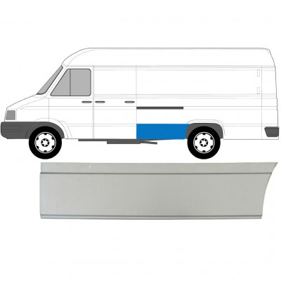 IVECO DAILY 1985-1999 LWB REAR WING PANEL / LEFT