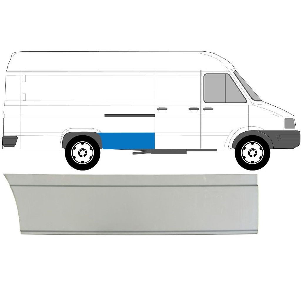 IVECO DAILY 1985-1999 LWB REAR WING PANEL / RIGHT