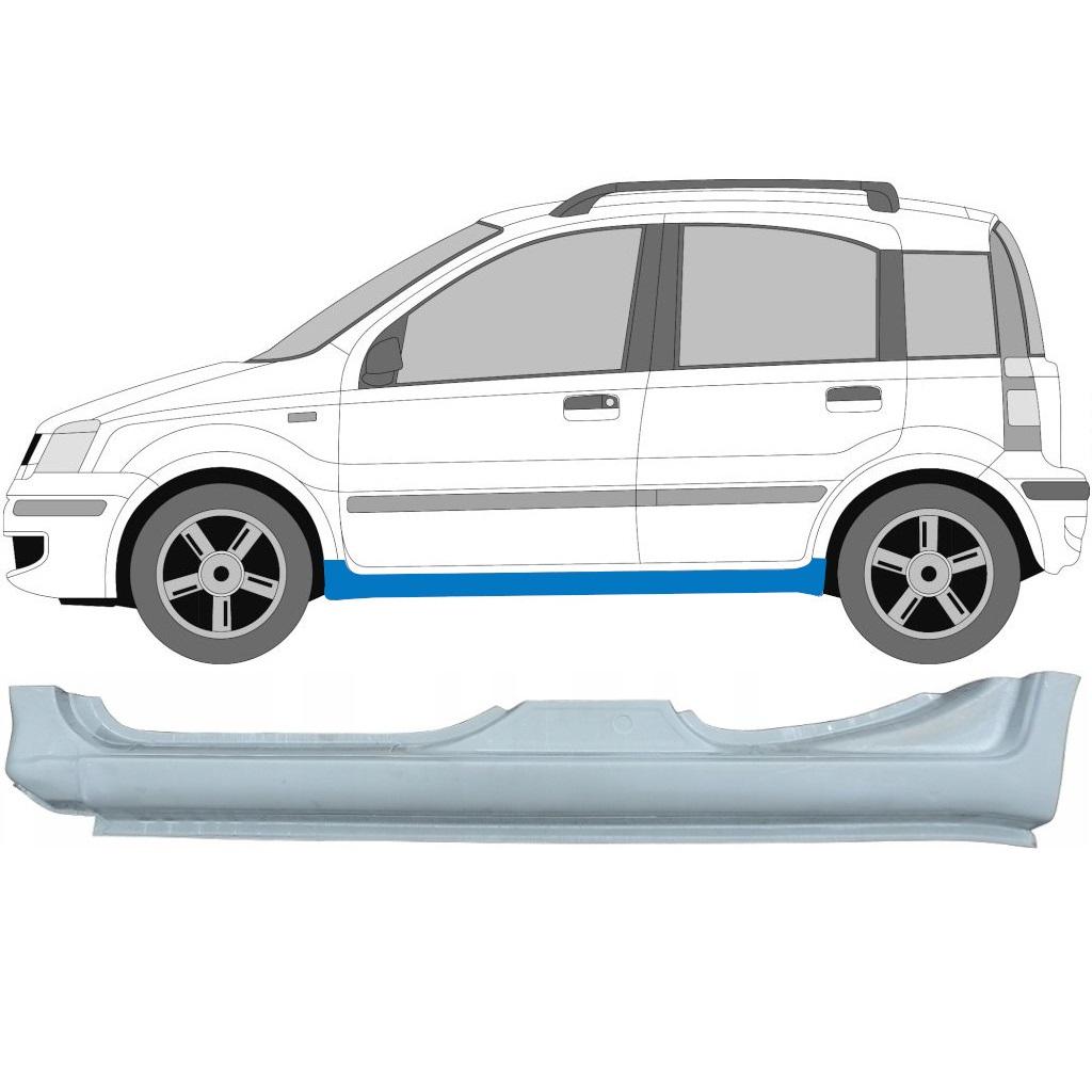 FIAT PANDA 2003-2012 VOLLSCHWELLE REPARATURBLECH / LINKS