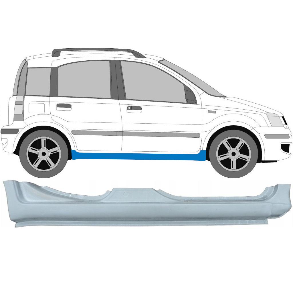 FIAT PANDA 2003-2012 VOLLSCHWELLE REPARATURBLECH / RECHTS