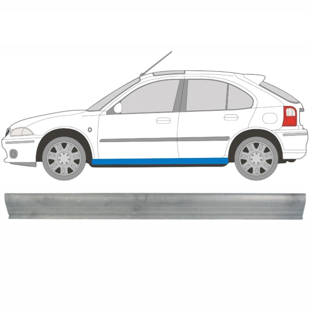 ROVER 25 MG ZR 1995-2005 SCHWELLE REPARATURBLECH / LINKS