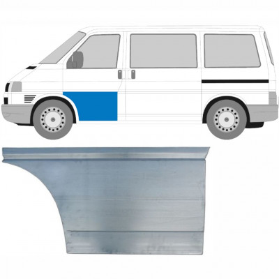 VW T4 1990-2003 FRONT TÜR AUßEN REPARATURBLECH / LINKS