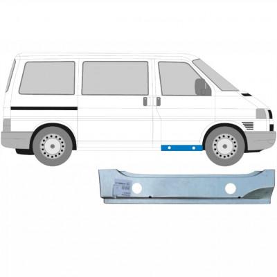 VW T4 1990-2003 FRONT TÜR INNEN SCHWELLE REPARATURBLECH / RECHTS