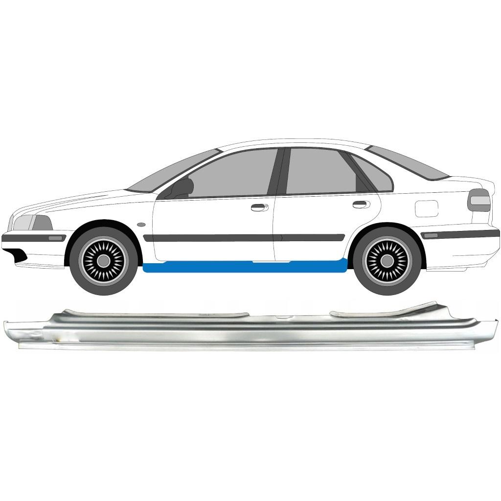 VOLVO S40 / V40 1995-2003 SCHWELLER REPARATURBLECH / LINKS