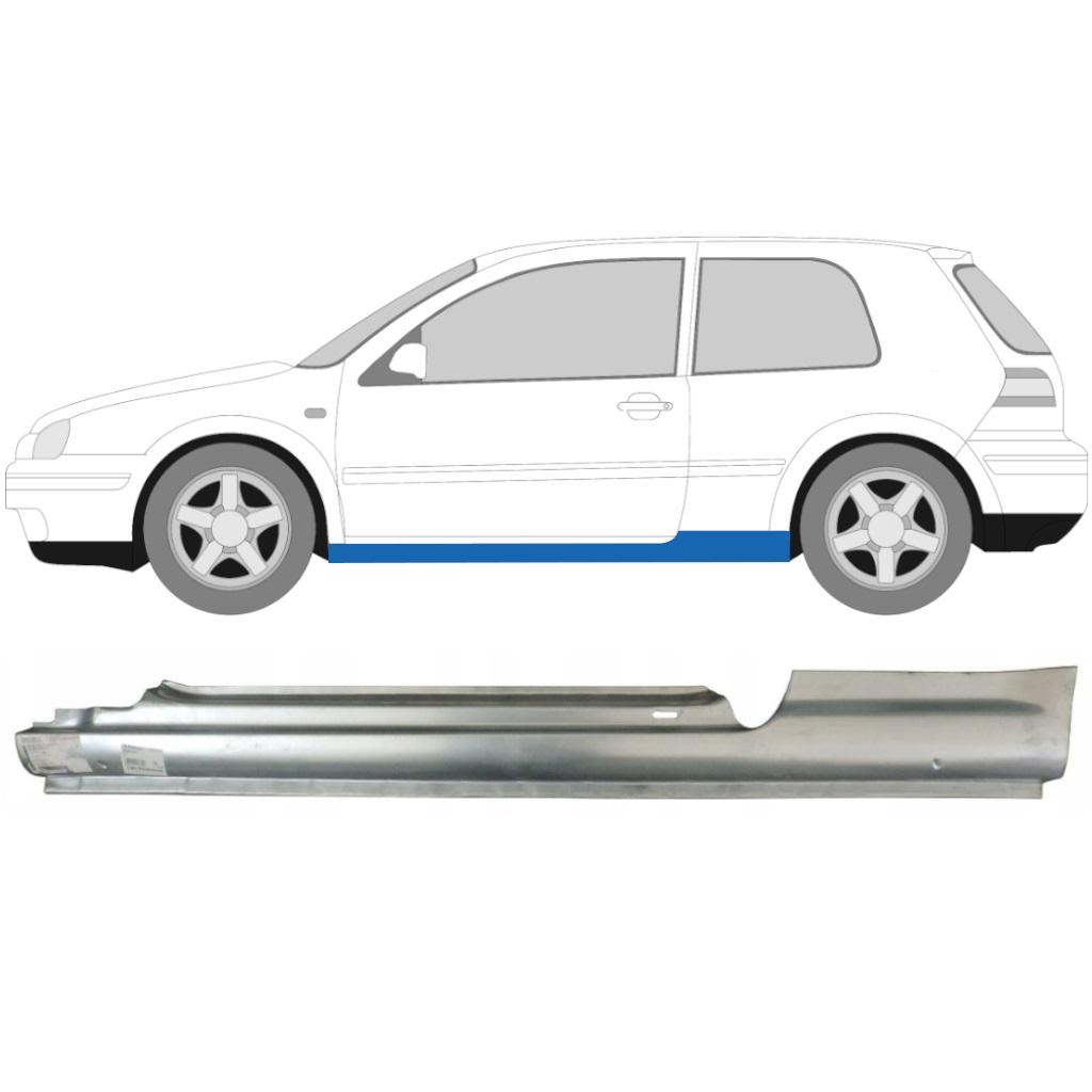 VW GOLF 4 1997- 3 TÜR SCHWELLE REPARATURBLECH / LINKS