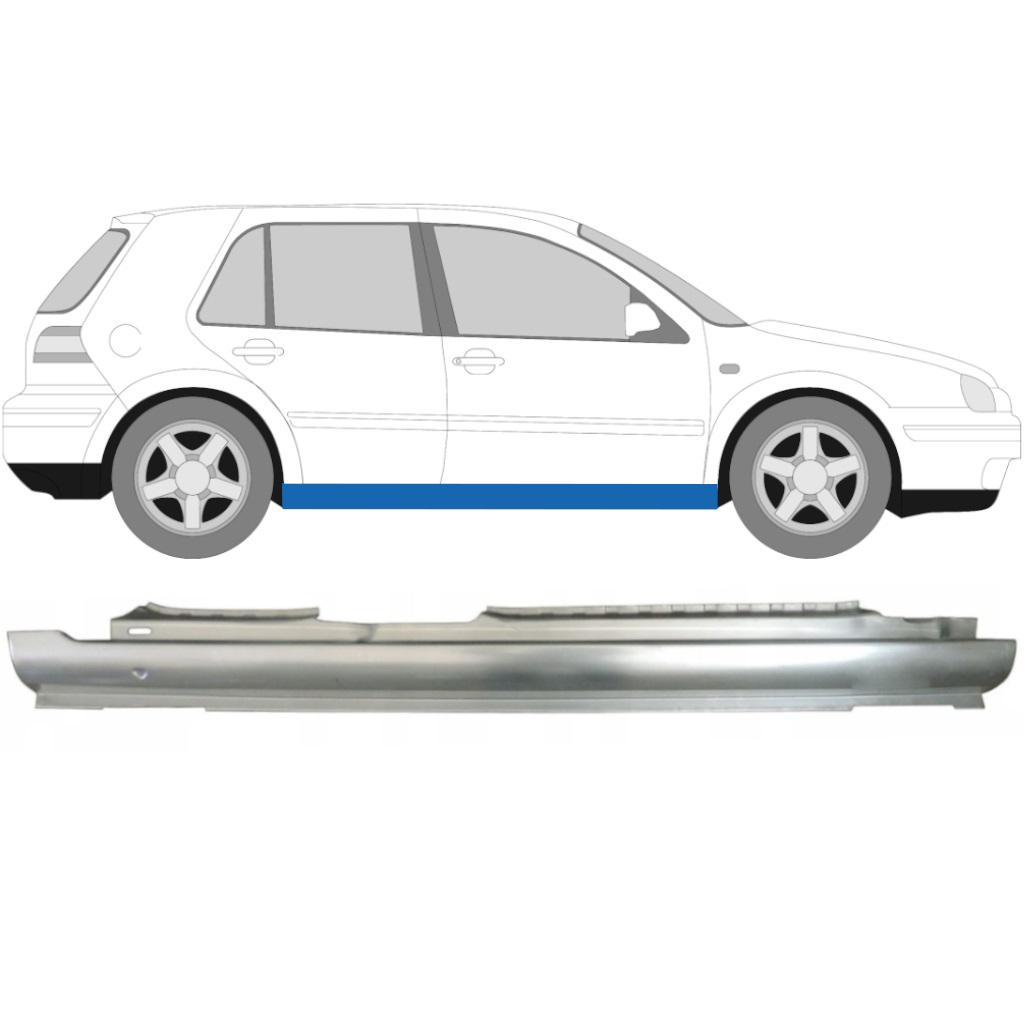 VW GOLF 4 1997- 5 TÜR SCHWELLE REPARATURBLECH / RECHTS