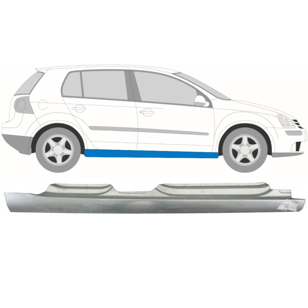 VW GOLF 5 2003-2009 5 TÜR SCHWELLE REPARATURBLECH / RECHTS