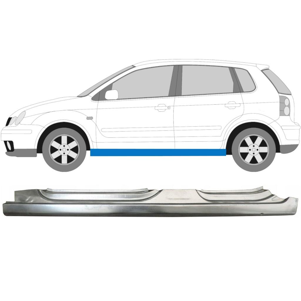 VW POLO 2001-2009 VOLLSCHWELLE REPARATURBLECH / LINKS