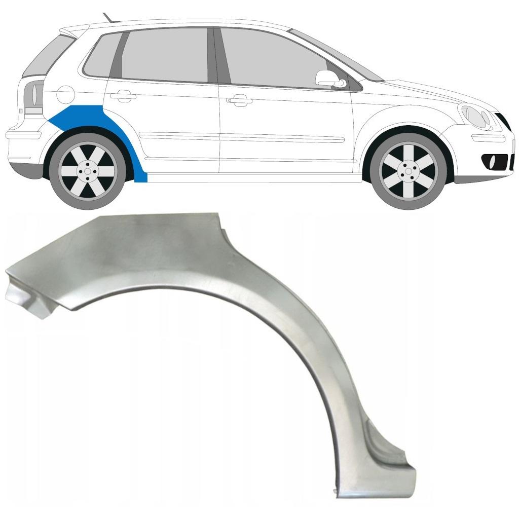 VW POLO 2001-2009 HINTERRADBOGEN REPARATURBLECH / RECHTS