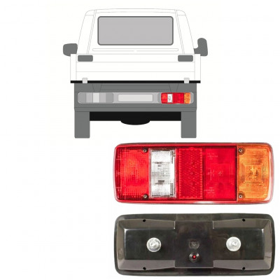 VW T4 1990- CHASSIS CONTAINER HECKLEUCHTE / RECHTS