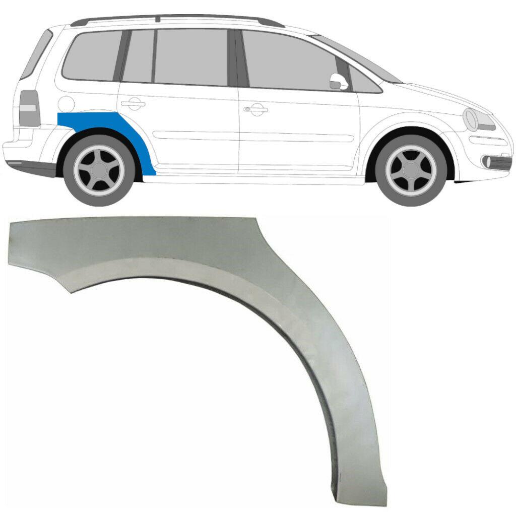 VW TOURAN 2003-2015 HINTERRADBOGEN REPARATURBLECH / RECHTS